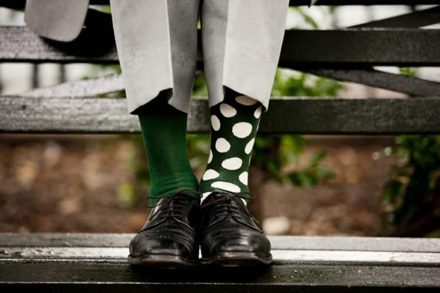 мужчины и носки