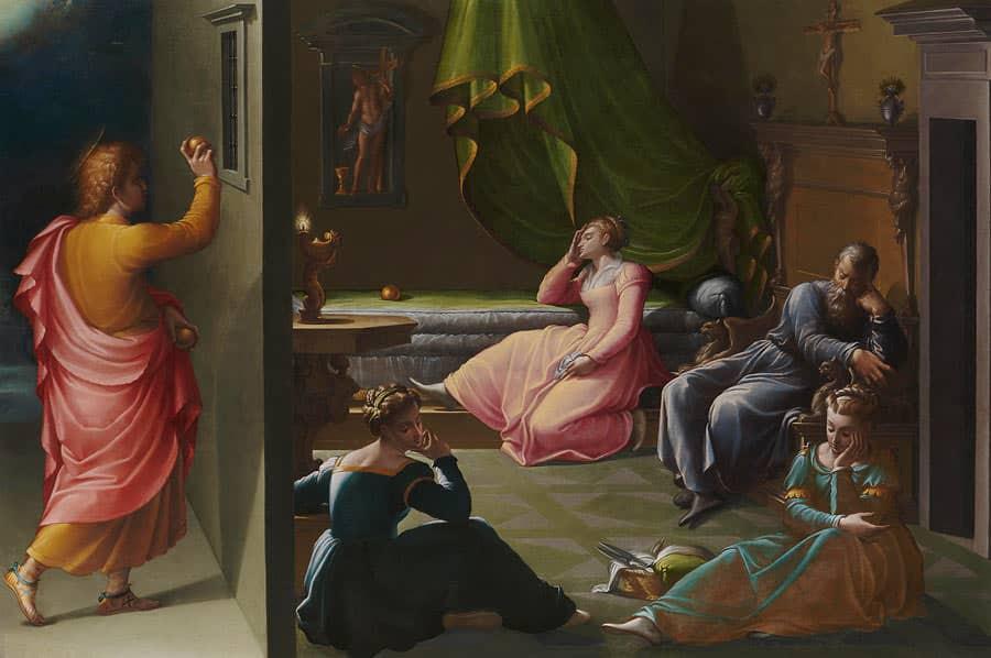 Святитель Николай спасает девиц