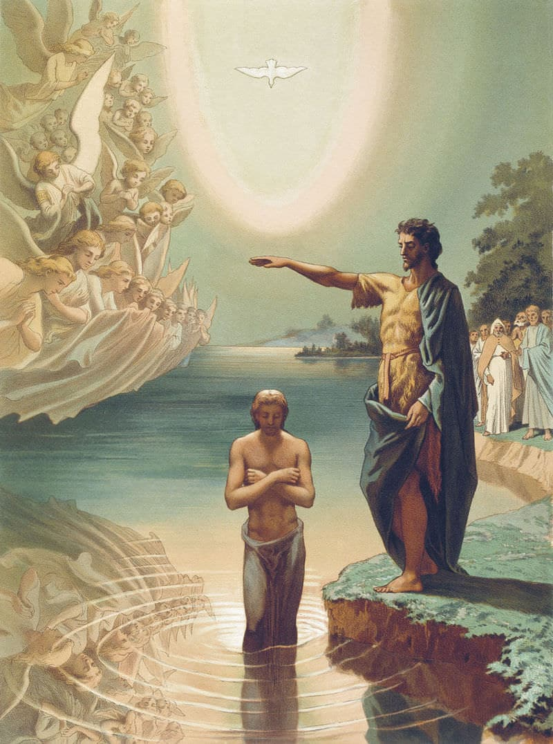 богоявление крещение христово