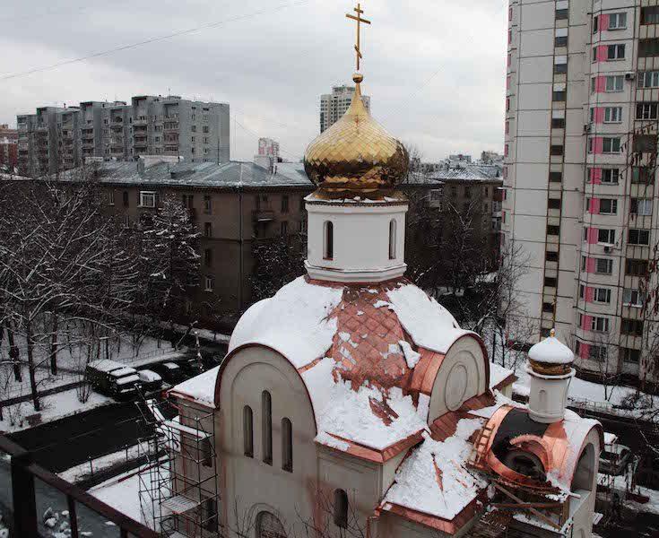храм Николая II в Москве