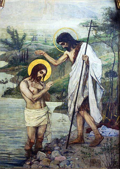 крещение господне в живописи
