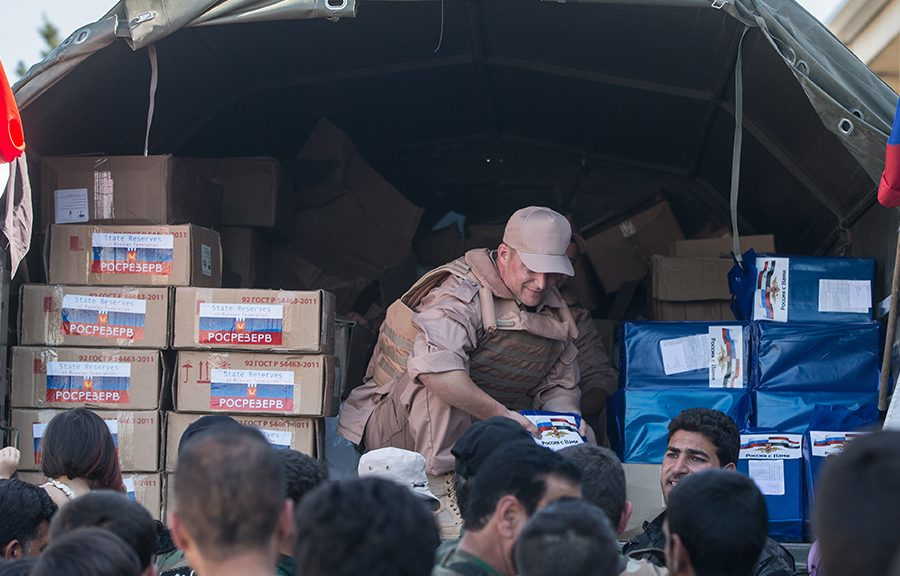 помощь сирии