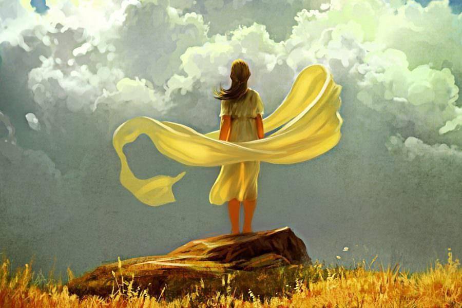 женщина одиночество