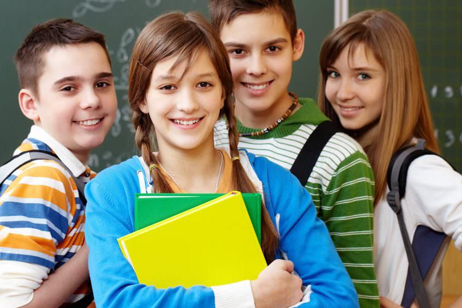 подростки школа