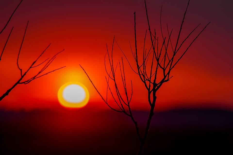 закат