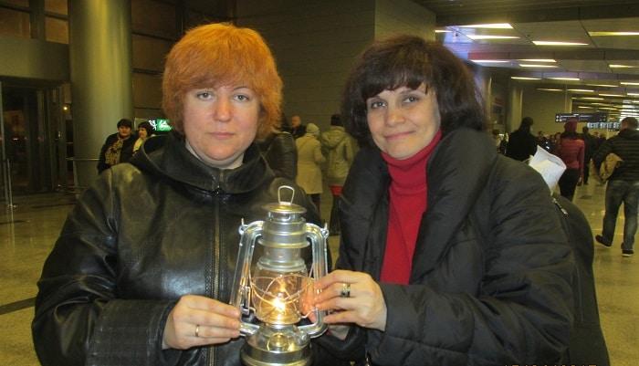 Татьяна Авдеева и Ирина Ахундова