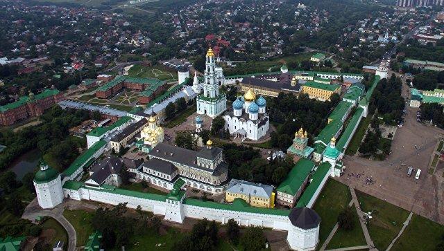 Сергиев-Посад. Свято-Троицкая Сергиева Лавра