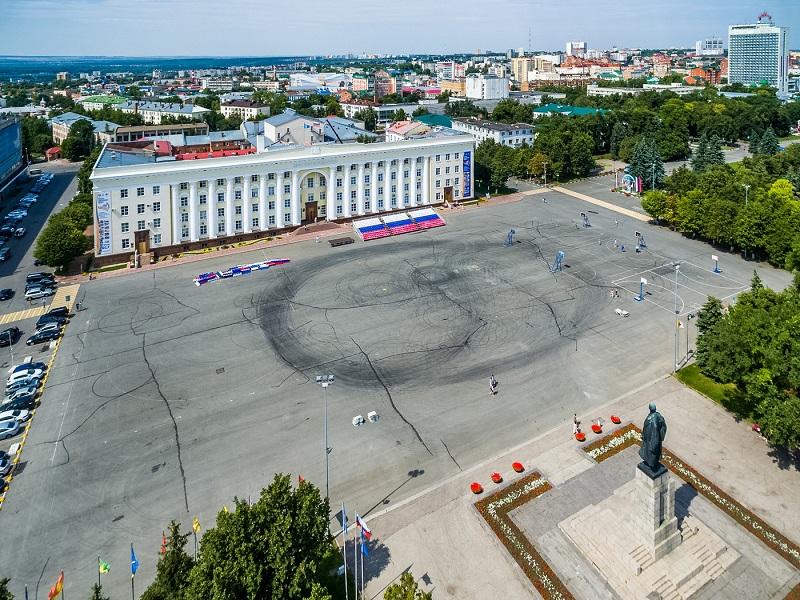 Соборная площадь Ульяновска