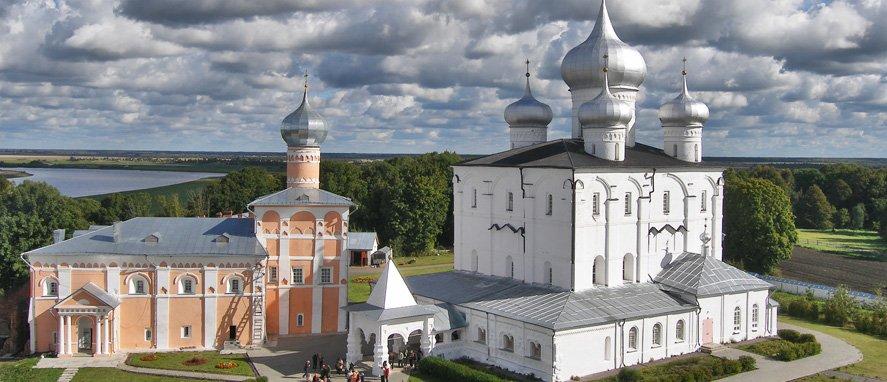 Варлаамо-Хутынский монастырь. Великий Новгород