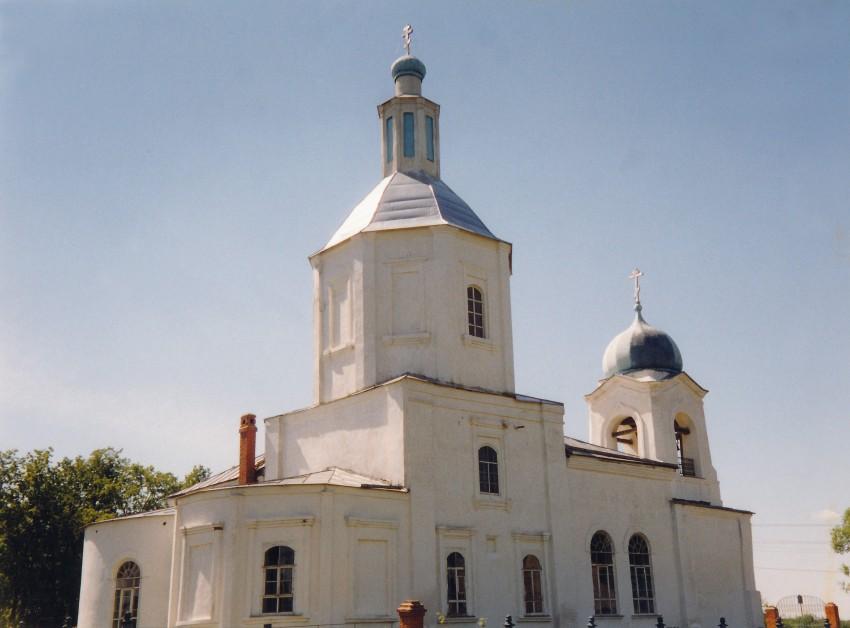 Храм Владимирской иконы Божьей Матери, с. Осташково