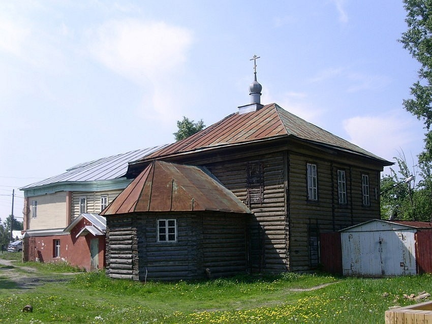Спасо-Преображенский Единоверческий храм г. Куровское.
