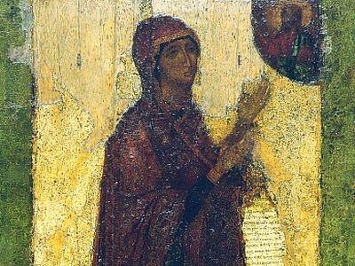 Агиосоритисса Боголюбская икона Божией Матери