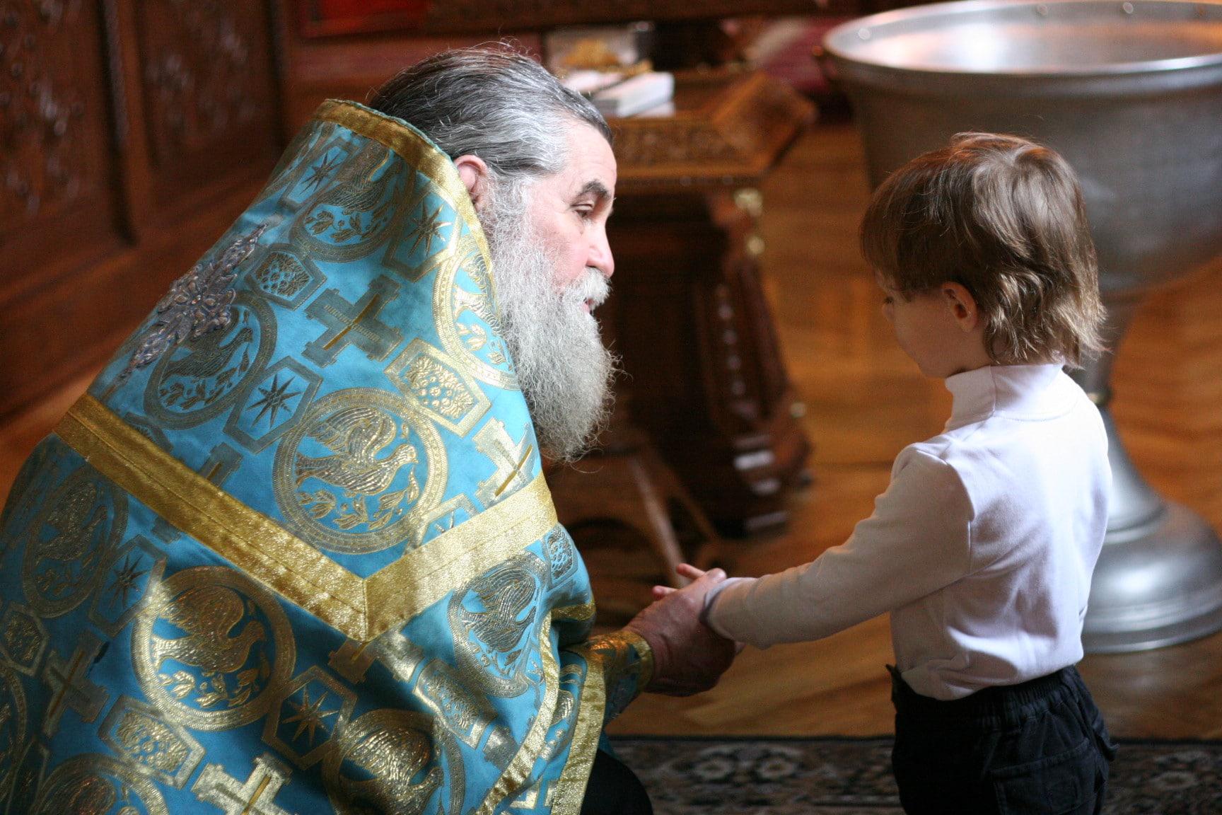 Правила крещения ребенка