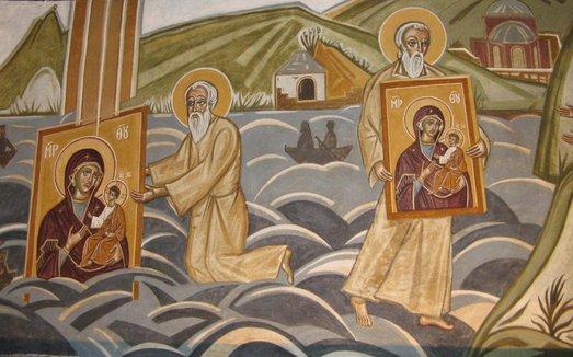 Иверская икона Божией Матери явление