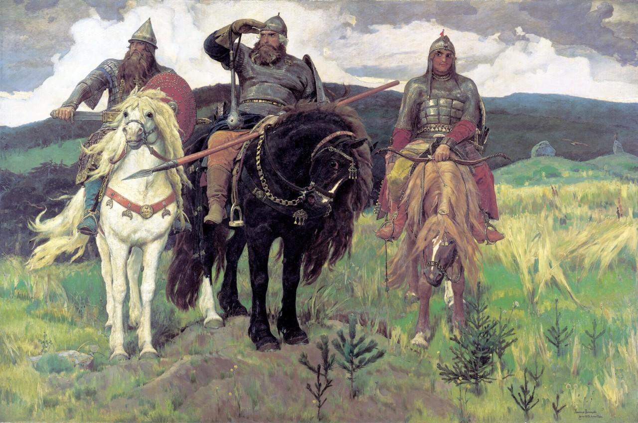 Богатыри Васнецов