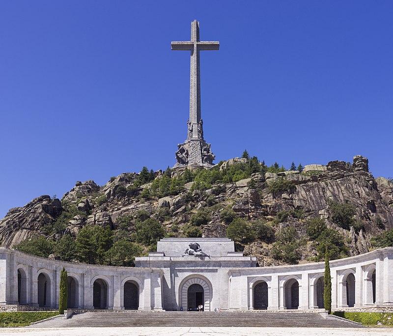 """Крест в """"Долине павших"""", Испания"""