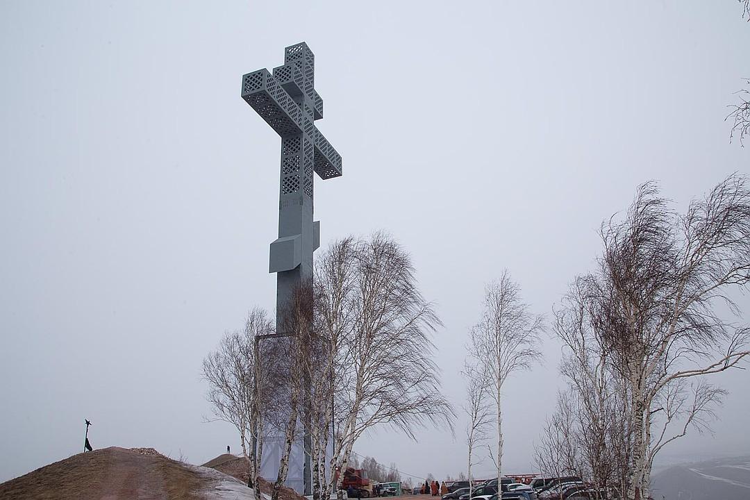 Поклонный крест в Красноярске