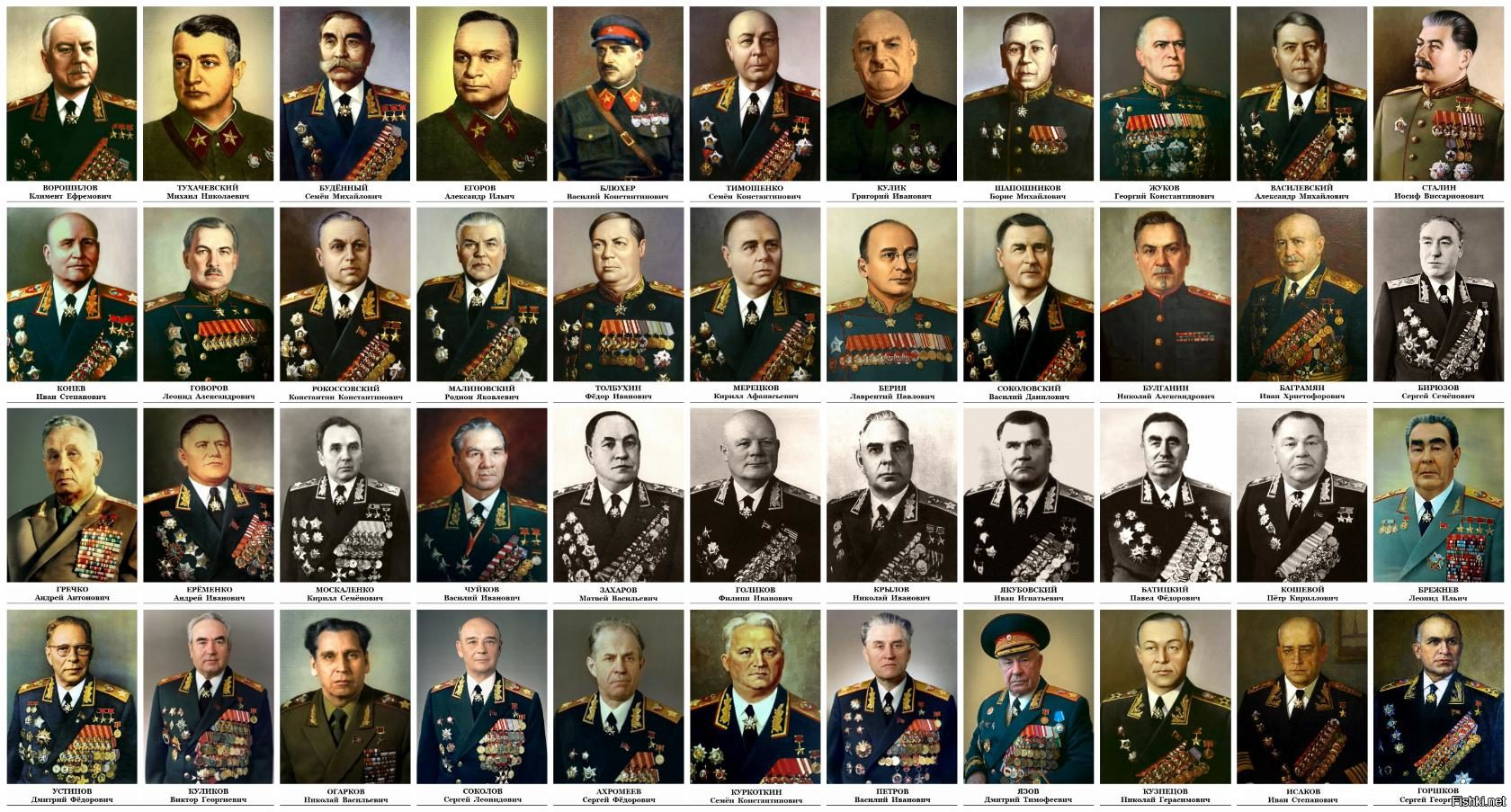 советские маршалы