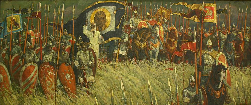 русских святых воинов