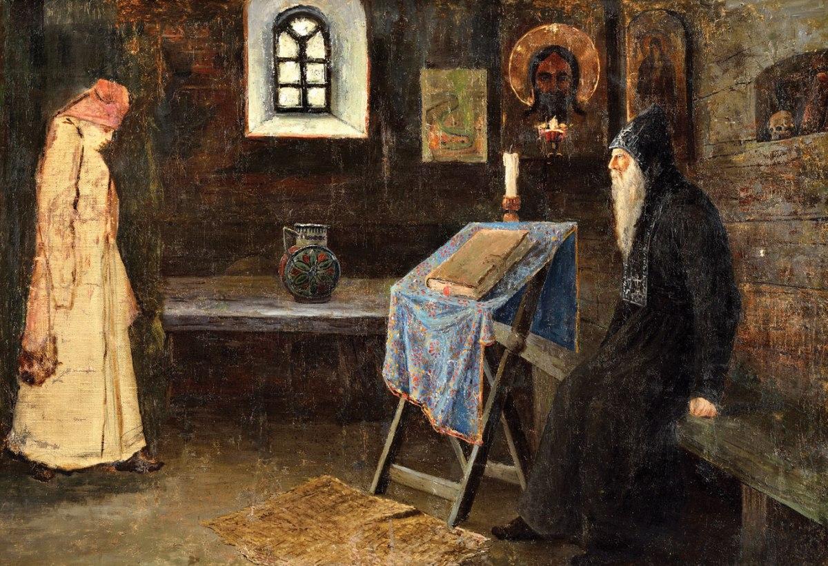 священник и исповедь