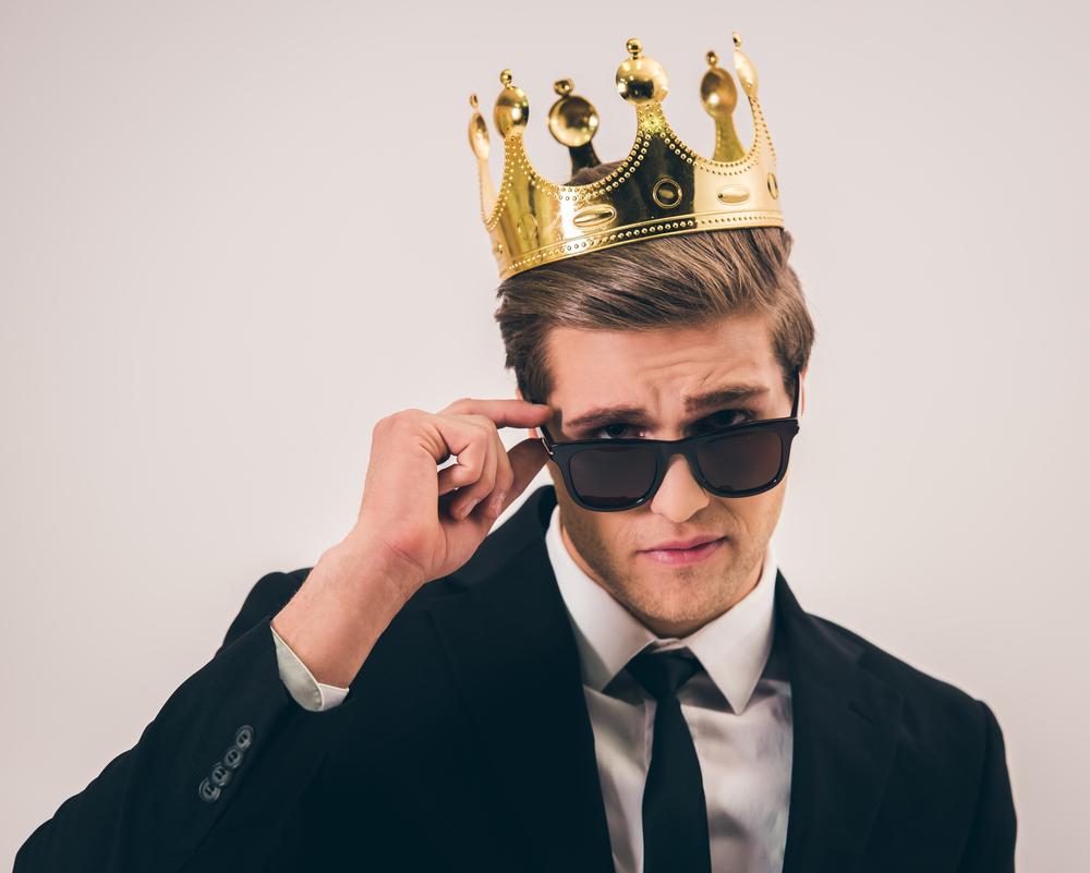 фото человек и корона типу
